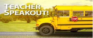 Teacher Speakout!